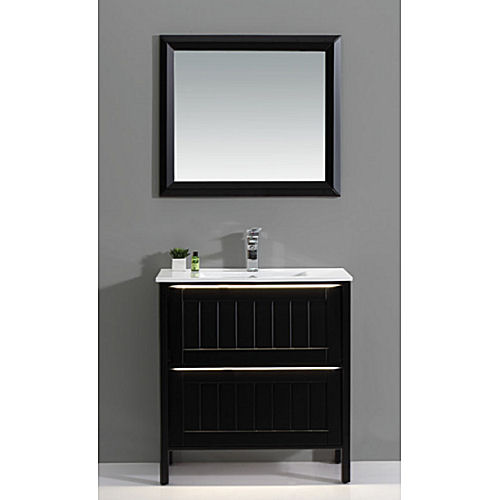 Bathroom vanity and cabinet set bgss as04 800 home for Bathroom cabinet 800