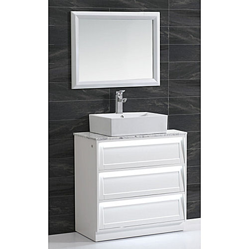 Bathroom vanity and cabinet set bgss as08 800 for Bathroom cabinet 800