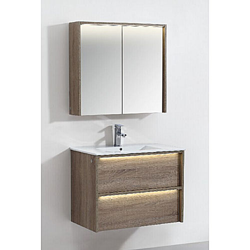 Bathroom vanity and cabinet set bgss075 800 bulk wholesale for Bathroom cabinet 800
