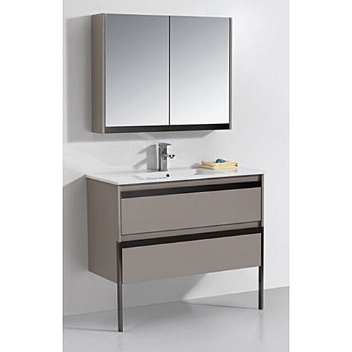 Original  That Both Met My Storage Needs And Fit With The Midcentury Design Of The Bathroom Thus Began The Extensive Search For A Premade Vanity That Was Both Affordable Under $1,000 And Would Work In The Space But Alas, I Could Find No