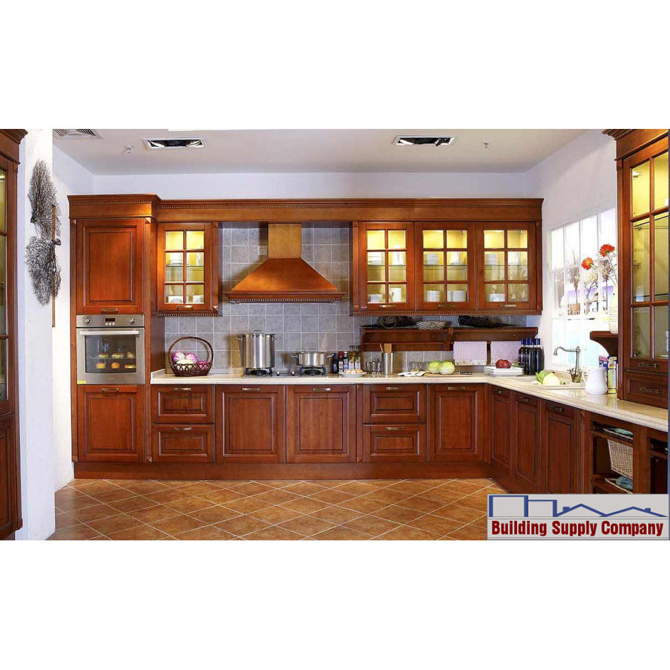 Kitchen cabinet ca09 09 hongye for Can you paint non wood kitchen cabinets